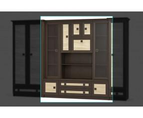Модульная гостинная Тристан витрина (MEBELservice UKRAINE)