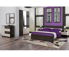 Модульная спальня Неаполь NEW Комплект (ФЕНИКС МЕБЕЛЬ)