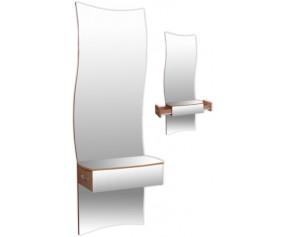 Зеркало навесное Ниагара  (МАКСИ-МЕБЕЛЬ)