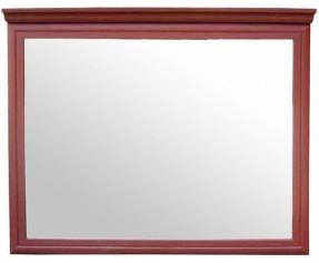 Зеркало навесное с карнизом - AGT профиль  (МАКСИ-МЕБЕЛЬ)