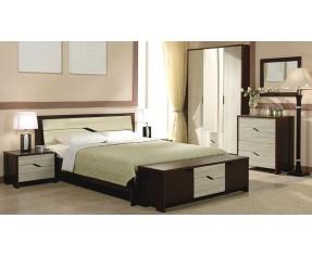 Модульная Спальня Доминика комплект (Мастер Форм)