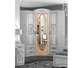 Модульная Спальня Василиса шкаф угловой  (Мастер Форм)