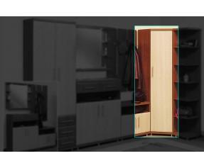 Модульная Система Дебют Шкаф угловой 1Д 65-65 (СОКМЕ)