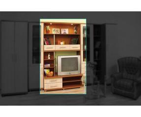 Модульная Система Дебют ТВ Тумба&Надставка 120 (СОКМЕ)