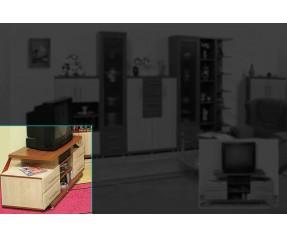 Модульная Система Дебют ТВ Тумба 130-4Ш (СОКМЕ)
