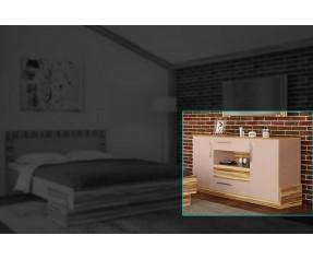 Модульная Спальня Эмма Комод 140 (СОКМЕ)