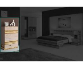 Модульная Спальня Эмма Комод 70 (СОКМЕ)