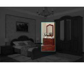 Модульная Спальня Каролина Комод&Зеркало (СОКМЕ)