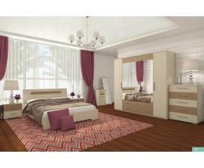Модульная Спальня Сандра Комплект (СОКМЕ)